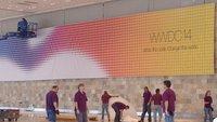 WWDC 2014: Apple dekoriert bereits das Moscone Center [Update: weitere Fotos]