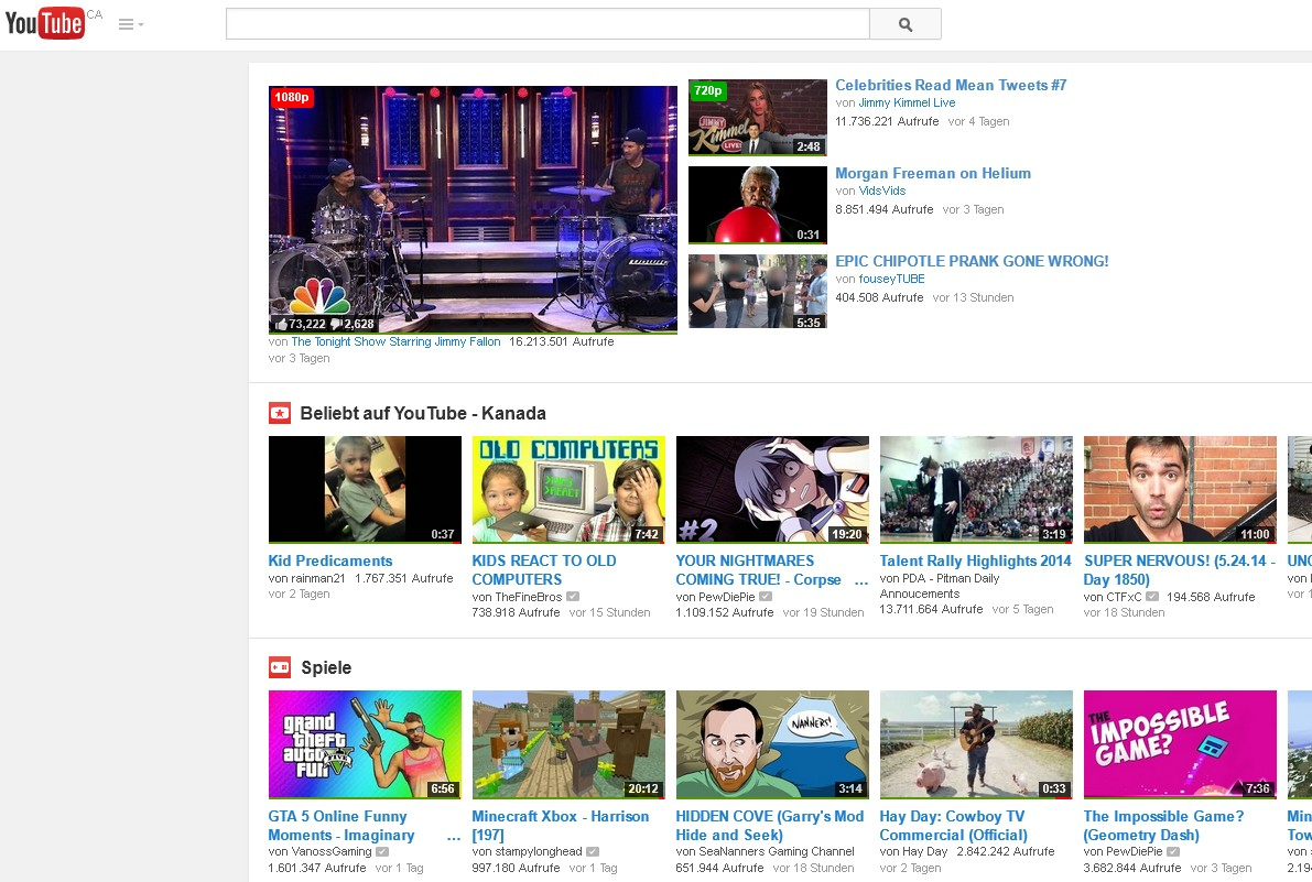 Berühmt Youtube Kanalvorlagen Bilder - Beispielzusammenfassung Ideen ...