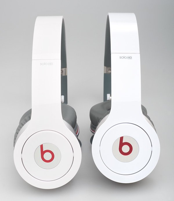 Beats Solo HD – Links Original, rechts Fälschung. Foto: Stiftung Warentest