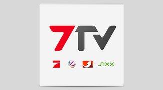 7TV App: Live Stream und Mediathek von Pro7, Sat.1, kabel eins, sixx und mehr