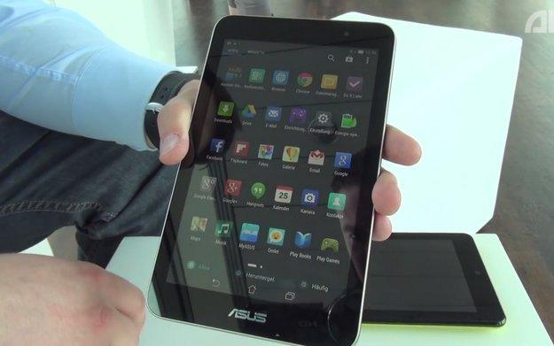 ASUS MeMO Pad HD 7 ME176C: Hands-On der Neuauflage mit schlankerem Design und Intel-CPU [Video]