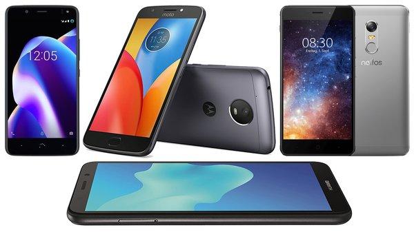 Die 10 Besten Android Smartphones Unter 100 Euro 2018 Giga