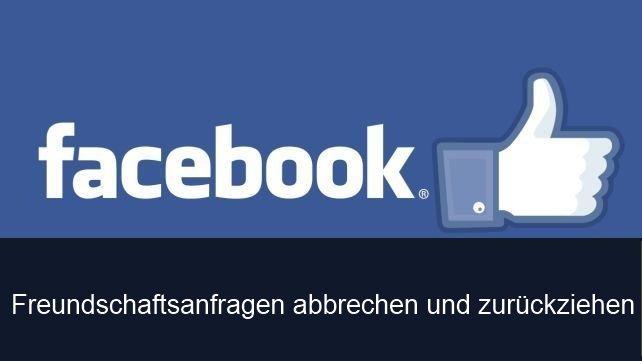 Facebook: Freundschaftsanfrage zurückziehen - Anleitung