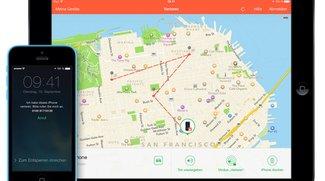 iOS 8: iPhone sendet letzten Standort vor leerem Akku