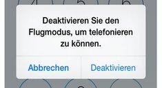 Sicherheitslücke in iOS 7: App-Zugriff ohne Sperrcode möglich