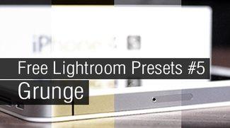 Free Lightroom Presets #5 - Grunge