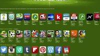 WM 2014: Sonderseite im App Store
