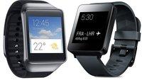 LG G Watch & Samsung Gear Live ab sofort erhältlich