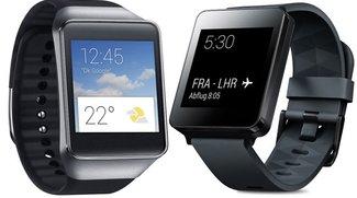LG G Watch & Samsung Gear Live erhalten erstes Update