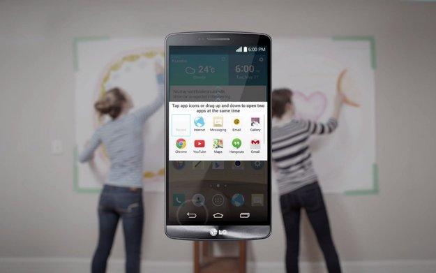 LG G3: Software-Features des neuen Topmodells in Videos demonstriert