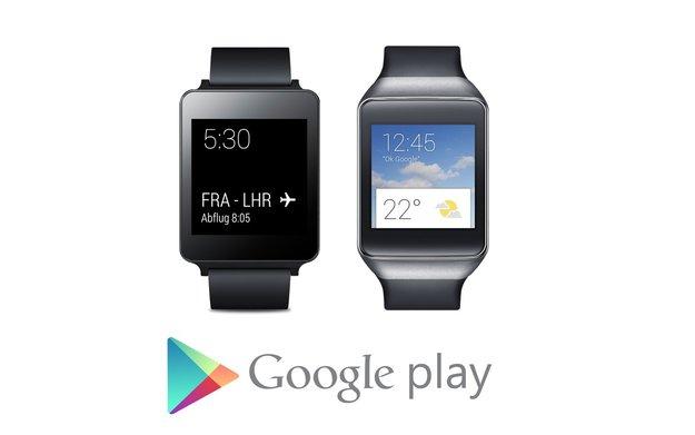 Samsung Gear Live & LG G Watch: Ab sofort im Play Store für 199 Euro erhältlich