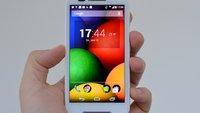 Moto E im Test: Wühltisch-Smartphone oder Weltrevolution?