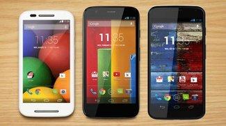 Motorola Moto X, G &amp&#x3B; E: Update auf Android 4.4.4 bestätigt