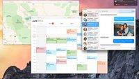 OS X Yosemite: Erste Hands-on-Videos