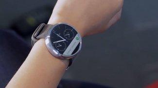 Moto 360: Motorola veröffentlicht Demo-Video