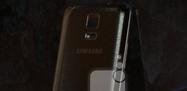 Samsung Galaxy F: Neue Bilder aufgetaucht, Gerät nicht größer als Galaxy S5