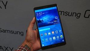 Samsung Galaxy Tab S: Ein wirklich schickes Tablet (Video)