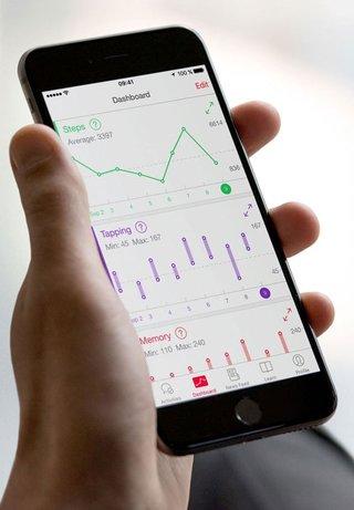 Schrittzaehler-Apps Apple Health Statistiken