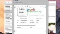 Signaturen: PDFs in Mail auf dem Mac unterschreiben, so gehts