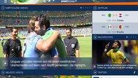 Sportschau-App zur WM zeigt Szenen aus bis zu 20 Perspektiven
