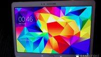 Galaxy Tab S: Angebliche Spezifikationen & Bilder