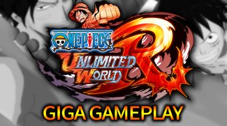 GIGA Gameplay: Endlich ein gutes One-Piece-Spiel! - One Piece Unlimited World Red