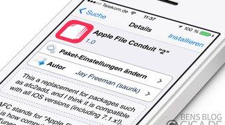 Apple File Conduit 2: Zugriff auf iOS-Systemverzeichnis per USB-Kabel [Cydia]