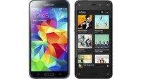 Amazon Fire Phone vs. Samsung Galaxy S5: Technische Daten im Vergleich