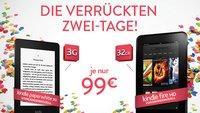 Amazon Kindle Fire HD & Paperwhite 3G für nur 99 Euro