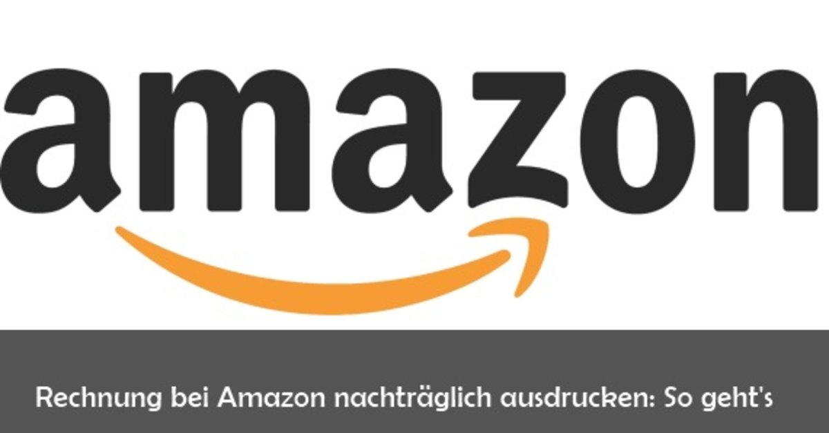 amazon rechnung anfordern und ausdrucken so geht s giga. Black Bedroom Furniture Sets. Home Design Ideas