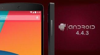 Nexus 5: Manuell Android 4.4.3 installieren