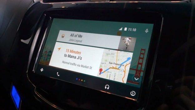 Android Auto: Neue Details und Screenshots zur Fahrzeug-Anbindung des Mobil-OS