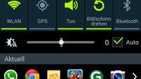 Android-Hack: App-Shortcuts in der Benachrichtigungsleiste