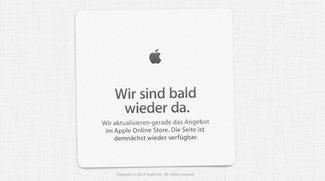 Apple Store offline – Update: Neue Macs!