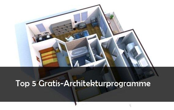 Architektur Programm kostenlos herunterladen: 5 Gratis-Tools für Heimgestalter