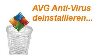 Virenscanner von AVG deinstallieren: Sauber und endgültig!