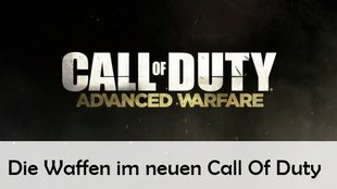 Call Of Duty: Advanced Warfare – Waffen im HighTech-Modus