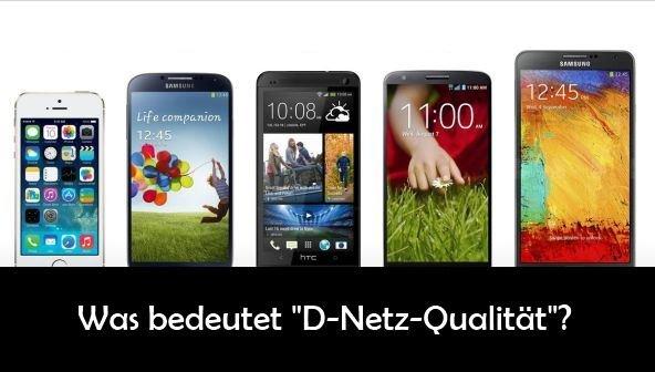 D-Netz Qualität: Bedeutung, Informationen und Anbieter