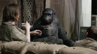 Planet der Affen - Revolution: Wie ein Affe Menschen tötet
