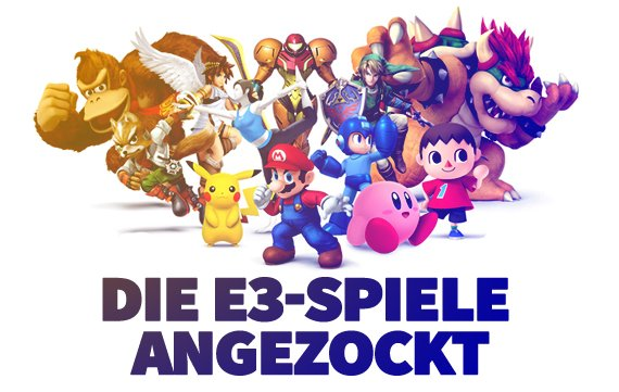 Nintendo Preview: Smash Bros., Splatoon, Hyrule Warriors & mehr angezockt!