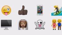 Emojis auf dem iPhone: So sehen Smileys & Co. in iOS aus – und anderswo