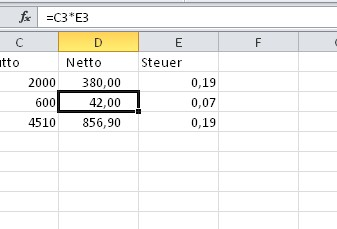 Excel Prozentrechnung Mit Beispielen Giga