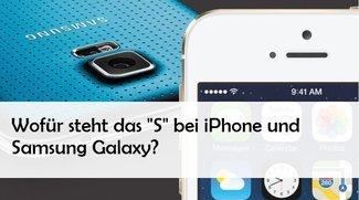 Wofür steht das s bei iPhone 5s und Samsung Galaxy S5?