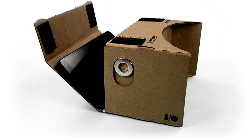 google cardboard virtual reality brille aus pappe. Black Bedroom Furniture Sets. Home Design Ideas
