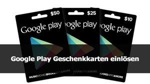 Google Play: Karte einlösen – so gehts