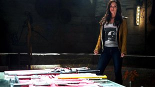 Ninja Turtles: Fotos mit Megan Fox, Shredder & Splinter