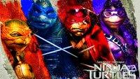 Ninja Turtles: Stylische Street-Art-Poster der Charaktere