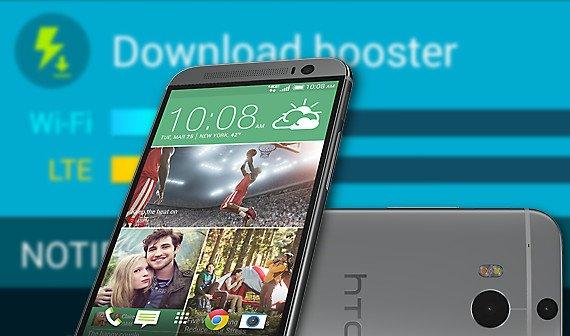 HTC One: Galaxy S5 Download Booster und TouchWiz-Launcher installieren