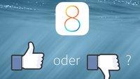 """iOS 8: """"Daumen hoch"""""""