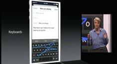 iOS 8: Apple erlaubt Tastaturen von Drittanbietern